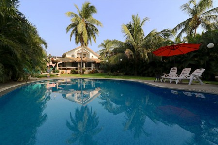 A 4BR furnished villa in Calangute-Baga area- Pool