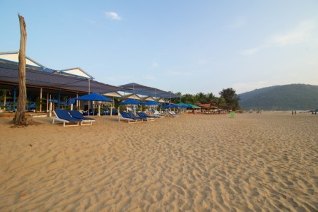 Private luxury sea facing cottages in Agonda beach- Front view