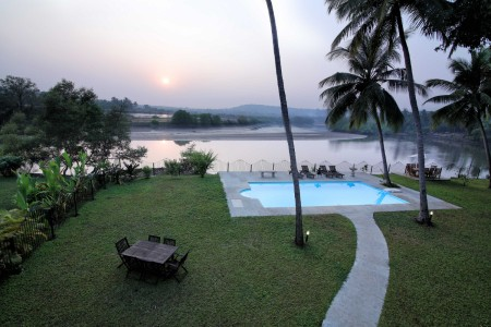 Riviera - 4 Bed Luxury Private Pool Candolim Villa- View from the villa