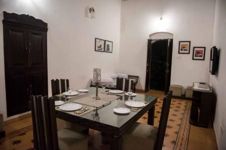 Goa Hideaway- Portuguese Villa- Dining