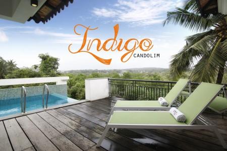 Indigo - 4 Bed Rooftop Pool Villa in Candolim- Cover
