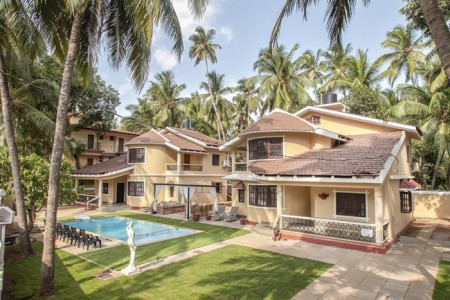 Modern 3BR furnished villa in Calangute- Your home away from home